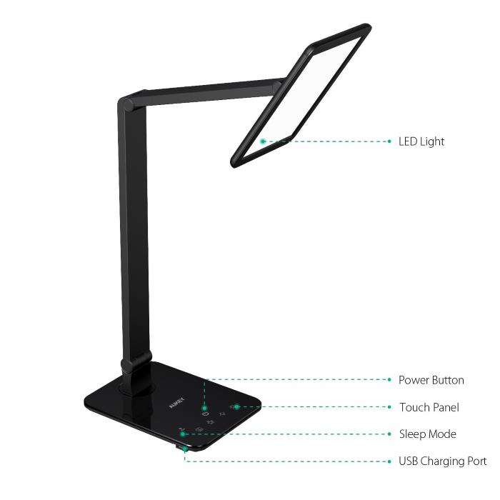 Migliore Lampada LED Aukey da tavolo design multifunzione ...