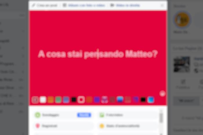 scritte colorate facebook whatsapp