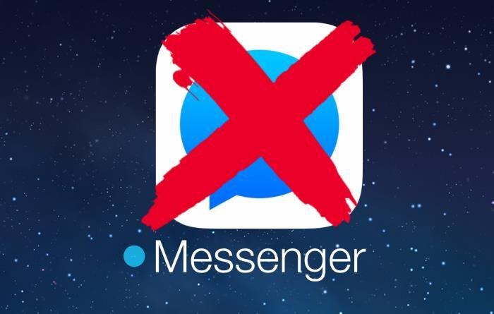 come cancellare messeger
