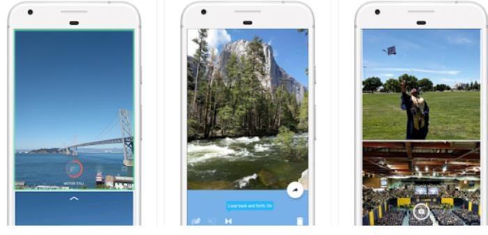come creare live photos android