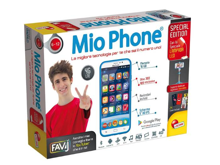 Mio Phone E Tablet Lisciani Youtuber Special Edition Favij