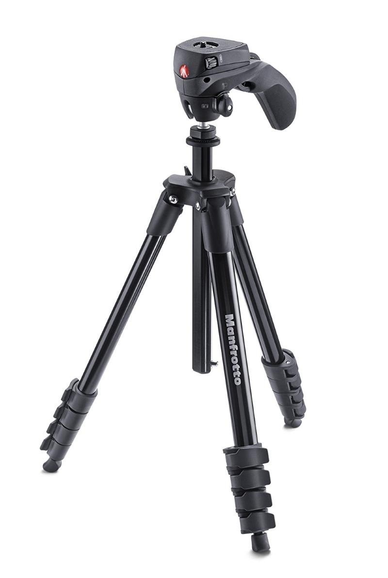 Treppiede Manfrotto MKCOMPACTACN-BK