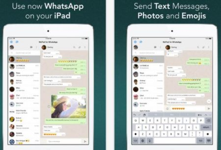 come usare whatsapp su tablet ipad