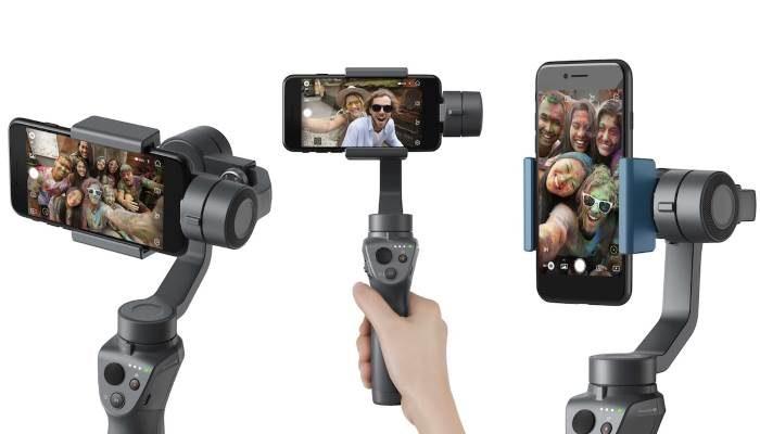 DJI Osmo Mobile 2 e Ronin-S: nuovi stabilizzatori per fotocamere Reflex e smartphone