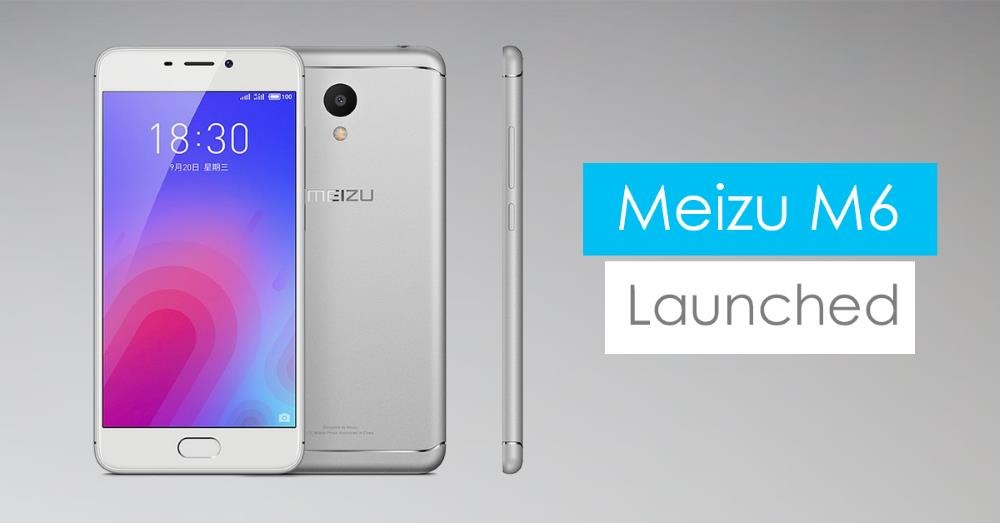 meizu m6 smartphone android