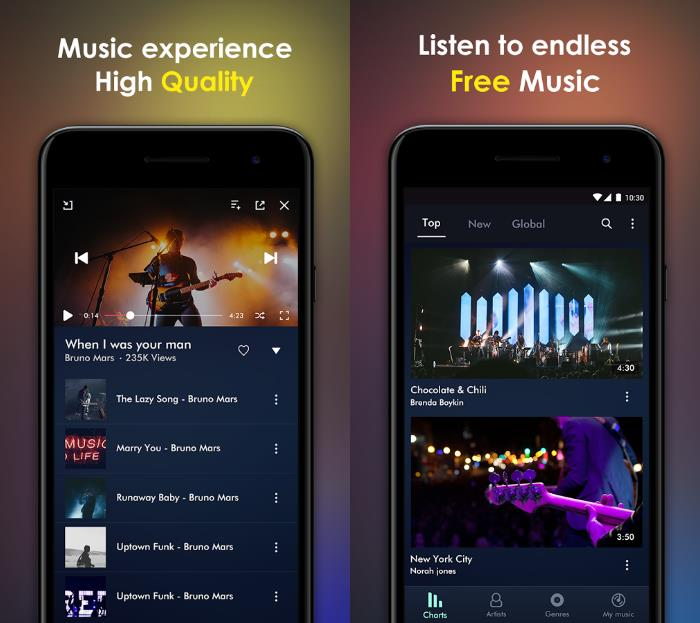 musica streaming gratis android