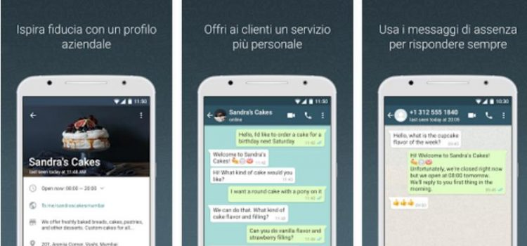 whatsapp business per aziende