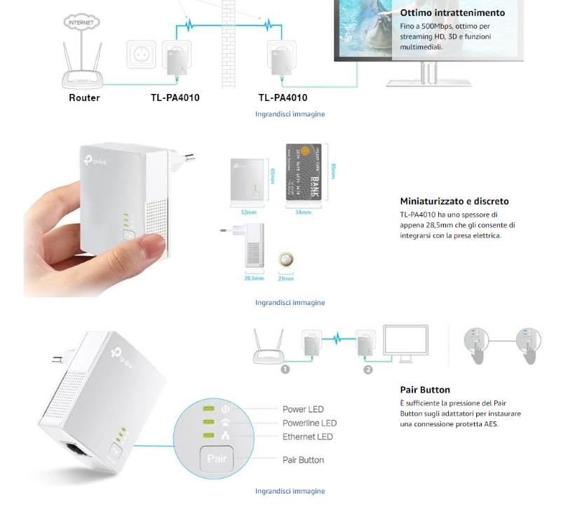 come configurare powerline tplink