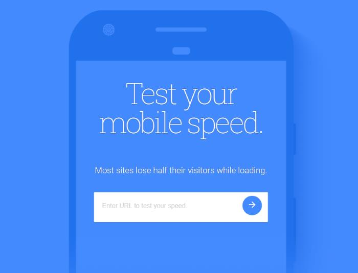 test mobile speed
