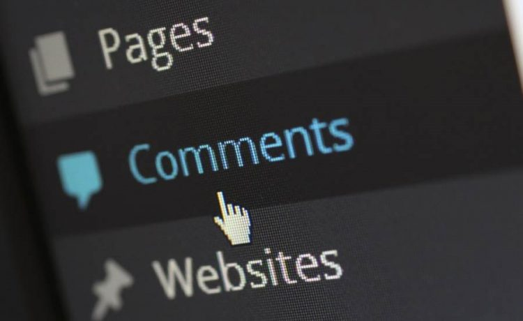come eliminare commenti wordpress