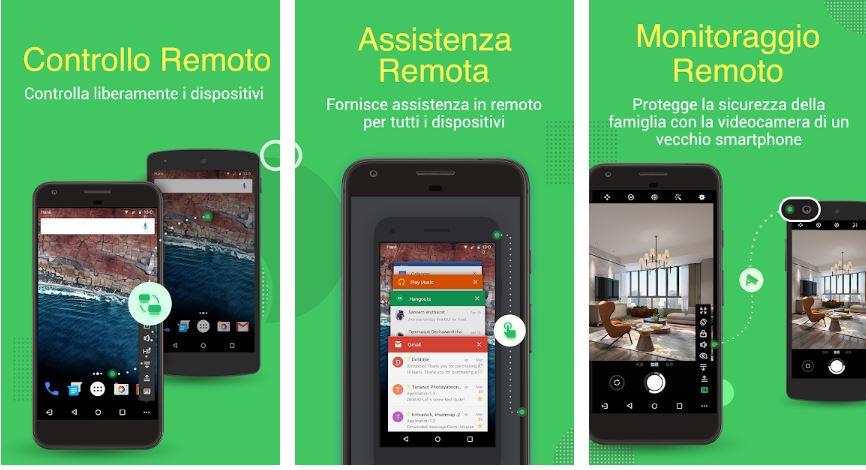 controllare un telefono android da remoto
