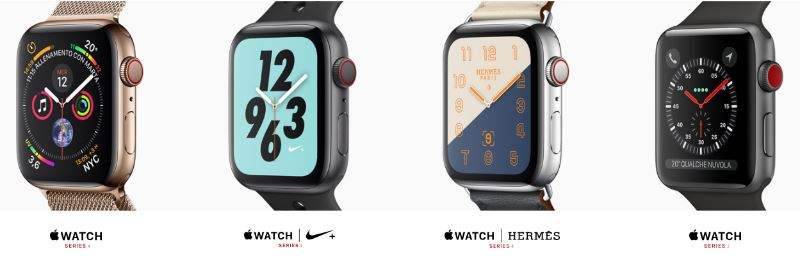 apple watch series 4 scheda tecnica