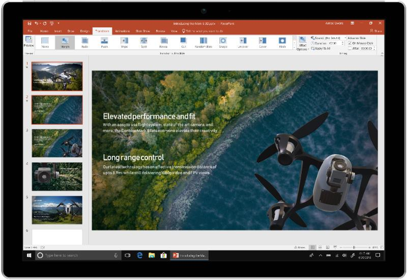 powerpoint office 2019