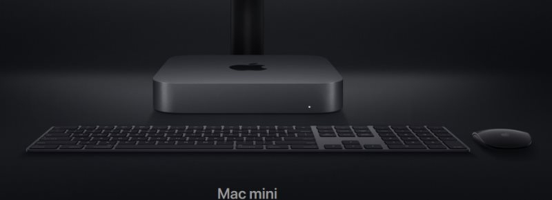 nuovo mac mini 2018