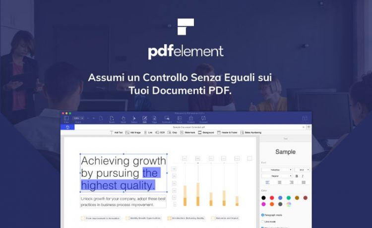 pdfelement come gestire file PDF