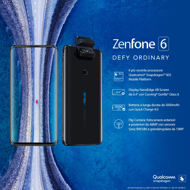 ASUS Zenfone 6_Key Visual