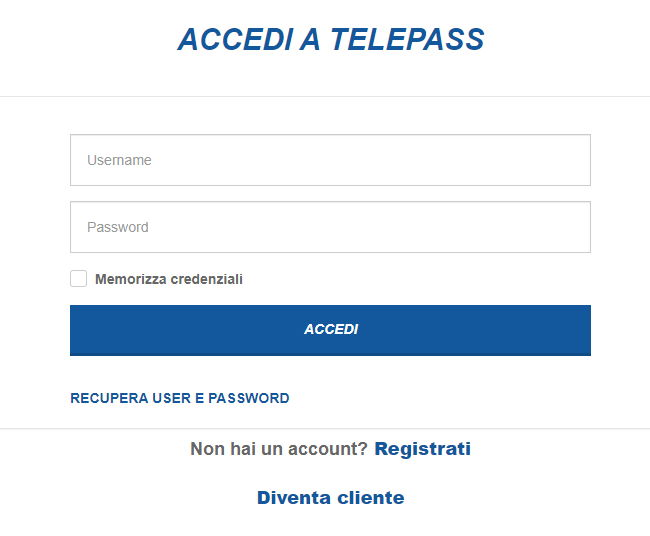Reset Password - Namirial TSP